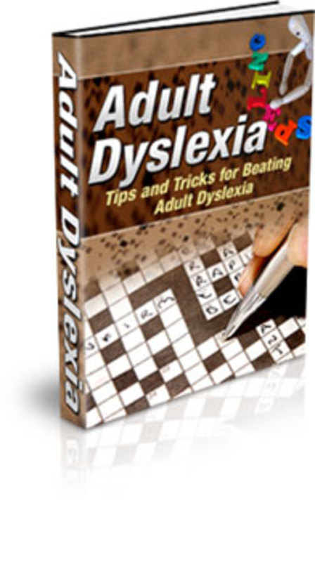 Product picture Tips and Tricks for Beating Adult Dyslexia